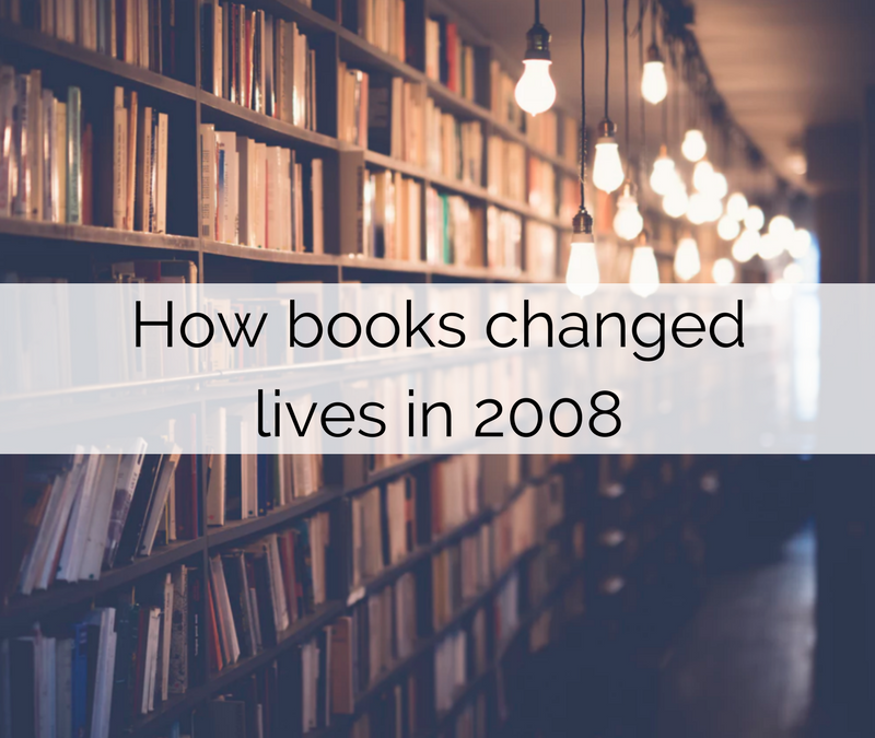 How personal development books changed lives in 2008